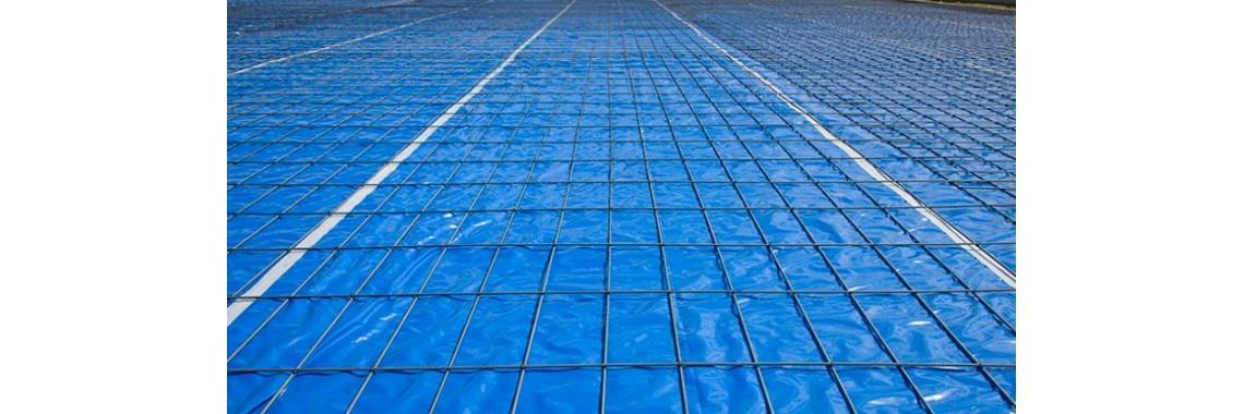 15 Mil Blue Vapor Barrier