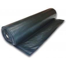 Poly Cover - Black -  6 mil - 20' x 200'